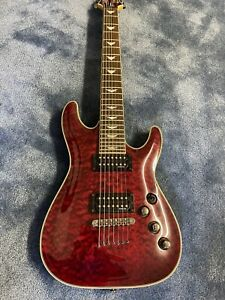 Schecter Omen Extreme 7 Series 7 String Electric Guitar w Quilted Maple Top $295.00