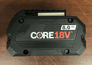 Bosch GBA18V80 Core 18V 8.0 Ah Lithium Ion Battery Pack No Packaging New $75.00
