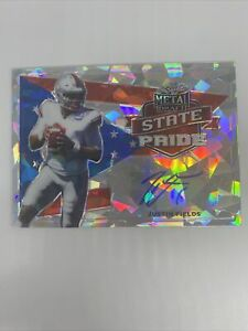 2021Leaf metal draft state pride#32 50Justin Fields cracked ice silver Auto#J170 $124.99
