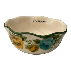 1 4 Cup Pioneer Woman Nesting Stoneware Measuring Bowl Replacement