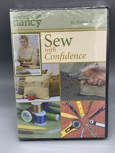 Sewing with Nancy Sew with Confidence DVD 2005 $18.95