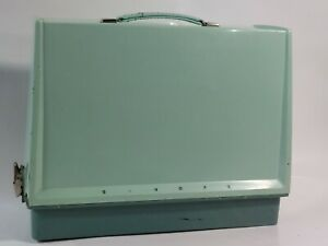 Singer Sewing Machine Carrying Case Baby Blue Base size 16.25x7quot; $85.45