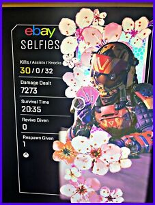 Apex Legends 20 Kill and 4K Badge XBOX PlayStation