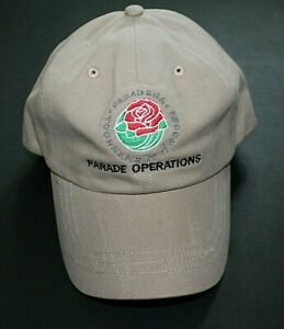 Vintage Tournament of Roses ParadeOperations Baseball Cap NOS Never Used