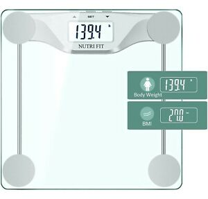NUTRI FIT Digital Body Weight Bathroom Scale BMI Accurate Weight Measurement... $20.78