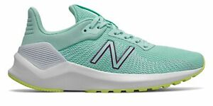 New Balance VENTR Womens Shoes Blue with Yellow $54.99