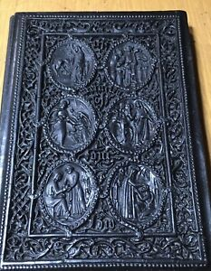 Papier Mache Binding MIRACLES OF OUR LORD Henry Noel Humphreys Chromolithograph $499.99