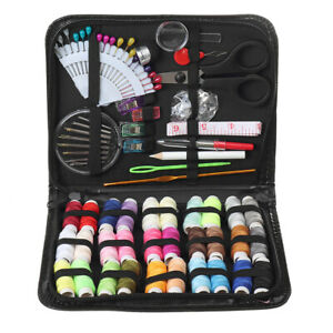 Sewing Kit 100 Premium Sewing Supplies Thread Spools Needle for Box Set Travel $13.45