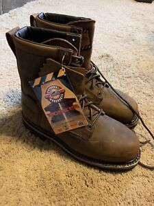 JUSTIN WORK BOOT WK630 COMP TOE: SIZE 9D NWT