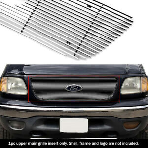 Fits 1999-2003 Ford F150/Lightning/Harley Davidson Honeycomb Upper Billet Grille