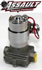 High Flow Performance Electric Fuel Pump 115GPH Universal Fit 3/8