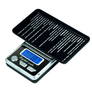 500g x 0.1g Precision Digital Pocket Scale for Jewelry Coins Diet Medication $7.95