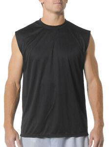 A4 Men's High Performance Ultra Tight Odor Resistant Muscle T-Shirt. N2295