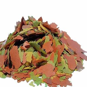 Tropical Fish Flakes FREE 12-Type BlackwormColor Pellet Blend Included.