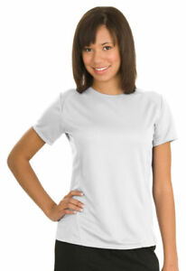 Sport-Tek Women's Double Needle Polyester Casual T-Shirt 12-Pack. L473