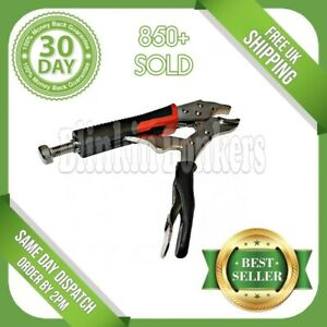 5quot; LOCKING MOLE GRIPS ADJUSTABLE SMALL CURVED JAW PLIER WRENCH VICE CLAMP TOOL GBP 3.79
