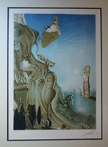 Dali original hand signed and numbered lithograph abstract large. $4800.00