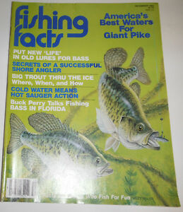 Fishing Facts Magazine Put New Life In Old Lures For Bass December 1982 082114R