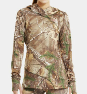Under Armour Women's Camo EVO Scent Control Hoodie (Realtree Xtra) 1230916-946