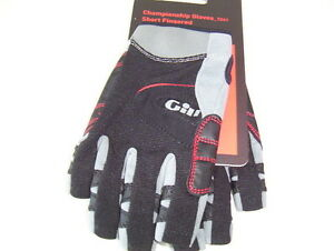Gill Championship Sailing Gloves Short Fingered Small #7242