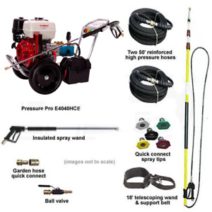 Pressure-Pro 4000PSI Basic Start Your Own Pressure Washing Business Kit w Al...