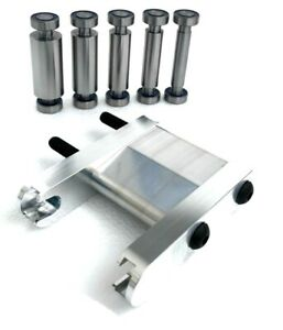 KNIFE MAKING SET: SMALL WHEEL HOLDER, 5 SMALL  WHEELS Fits 2