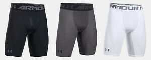 Under Armour Men's UA HeatGear Armour Long Compression Shorts Workout 9 Length $29.99