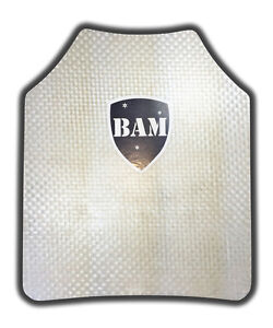 Body Armor Bullet Proof Plate ArmorCore Level IIIA 3A 10x12 Single $41.99