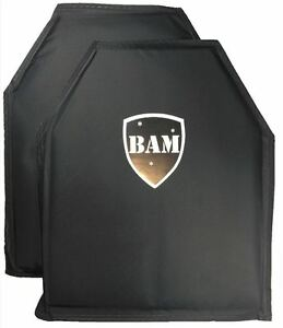 Body Armor Bullet Proof Insert Level IIIA 3A 10x12 Pair Mfg 2020 $130.99