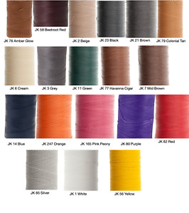 Ritza 25 Tiger Thread 1.0mm Wax Braided Polyester Leather Hand Sewing 25m 82ft $7.99