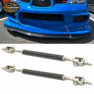Fits Honda Carbon Front Rear Splitter Rod Support Stabalizer Length (5.5-8In)