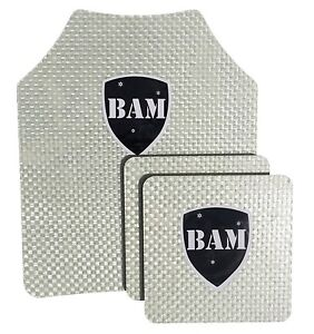 Body Armor Bullet Proof Plates ArmorCore Level IIIA 3A 10x12 6x6 Bundle $124.99