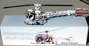 First Response Corgi 1 43 Pennsylvania State Police PSP Bell 47 Helicopter $24.99