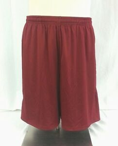 NWT Men's XL Under Armour Cardinal Red Athletic Mesh Shorts 1223199