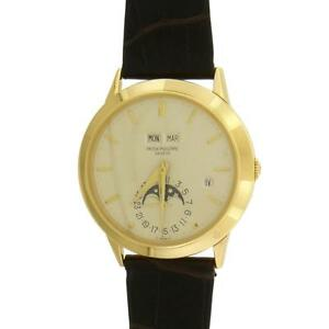 18k Yellow Gold Patek Philippe Ref 3450 PERPETUAL 3rd Series Extremely RARE