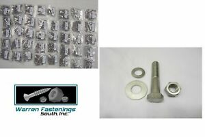 334PC 18-8 STAINLESS STEEL COARSE THREAD HEX BOLT NUT AND WASHER ASSORTMENT