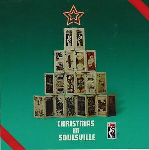 Christmas In Soulsville-CD-Stax Isaac Hayes-Otis Redding-Albert King-Mack Rice