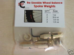 MOTORCYCLE WHEEL WEIGHTS FOR SPOKED WHEELS USA SELLER FREE USA SHIPPING