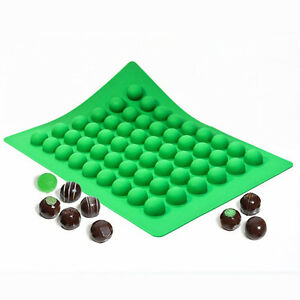 Truffly Made Silicone Truffle Mold Small Round 54 Cavities