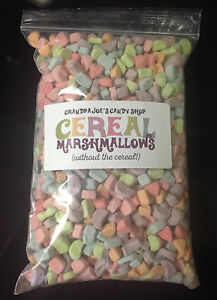 Cereal Marshmallows Without the Cereal (.37lb Bag) FREE SHIPPING