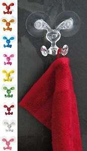 Koziol BUNNY Wall Hook Great For Kitchen or Bath $9.99