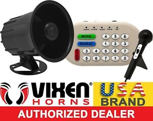 LOUD 46 SOUNDS ANIMAL MUSIC SIREN EFFECT PA SYSTEM ELECTRONIC HORN CAR TRUCK 12V $51.07