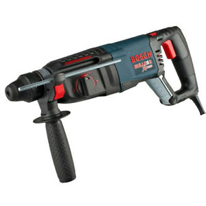 Bosch 1 in. SDS Plus D Handle Bulldog Xtreme Rotary Hammer 11255VSR Recon