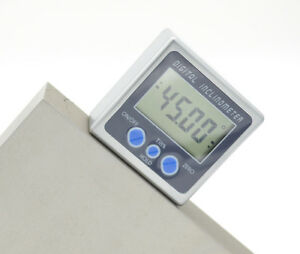 2x180° Digital Angle Cube Finder Magnetic Inclinometer Gauge Protractor Level $25.69
