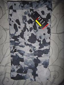 UNDER ARMOUR HEAT GEAR GOLF SHORTS CAMO CARGO BOYS S M L XL NWT $44.99