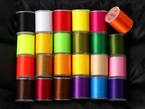 Fly tying thread 150 denier choose from 24 colors150 Yd spools lures materials