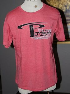 NEW Mens Red True Power Christian Crossfit Gym Dallas TX Workout Shirt 2XL XXL