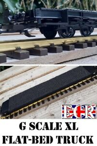 g scale 45mm gauge xl long flatbed 57cm to