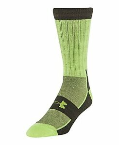 Under Armour Mens UA Scent Control ColdGear® Infrared Light Crew Socks Extra