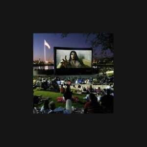 Open Air Cinema CineBox Elite 40'x22.5' Outdoor High Def Theater 16x9 CBE-40